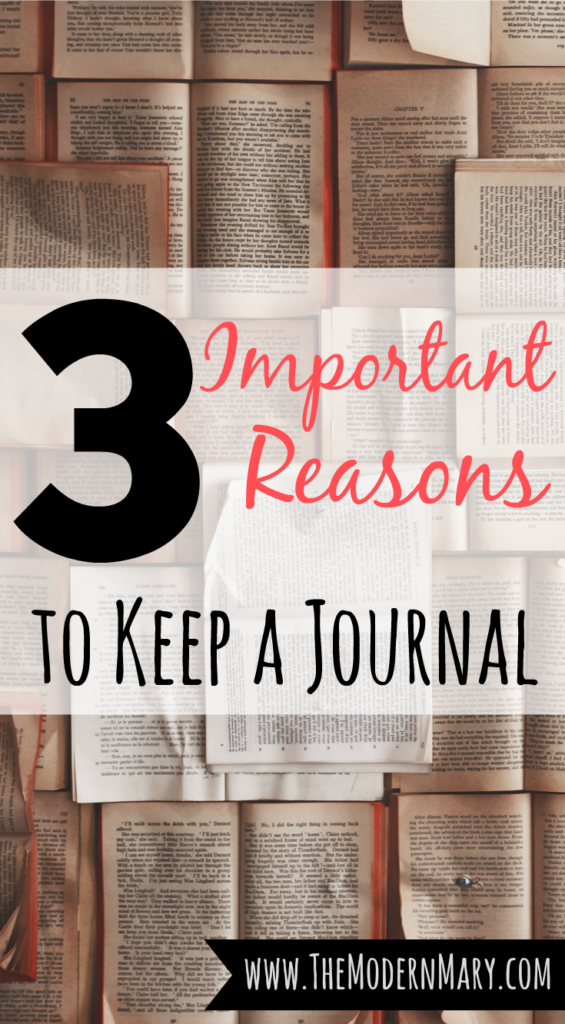 3 Reasons to Keep a Journal