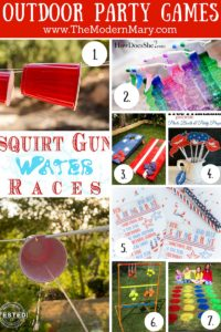 Easy & budget-friendly outdoor patriotic party ideas for the 4th of July, Veterans Day & Memorial Day. Decor, drinks, games, food and party favors.