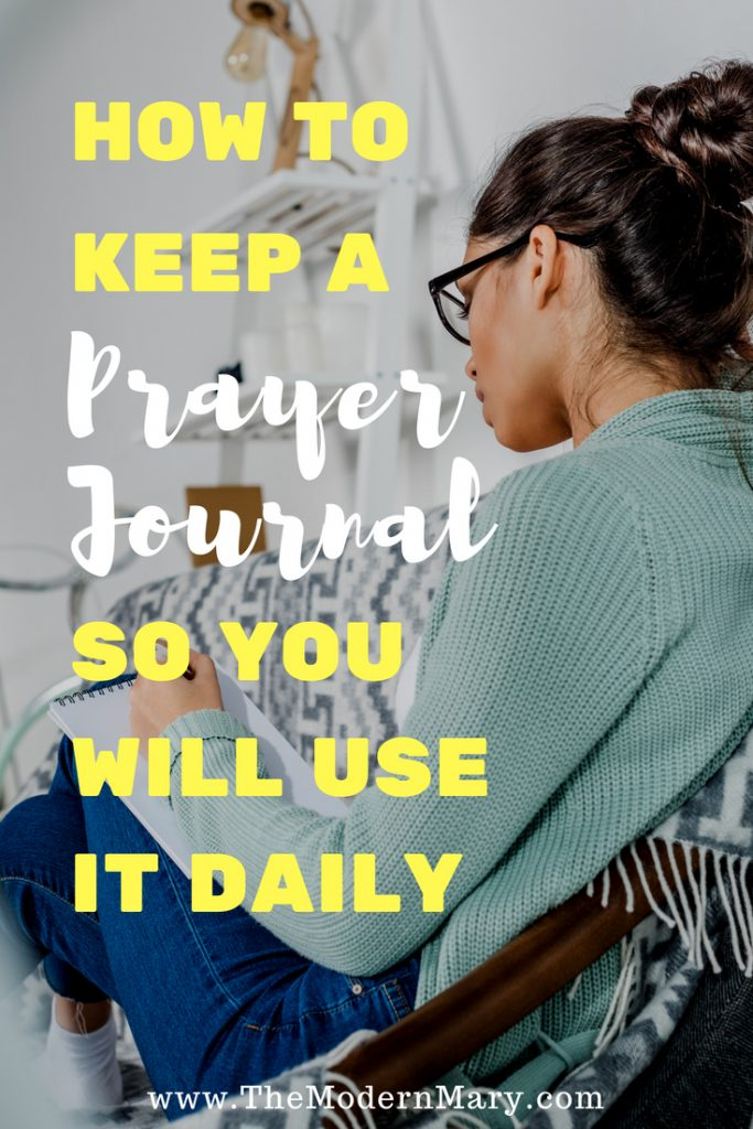 How to use a prayer journal so you'll use it daily. Keep Bible study simple!! #bibleverse #prayerjournal