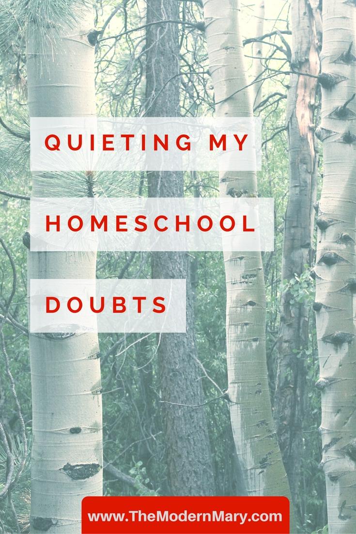Homeschool Doubts