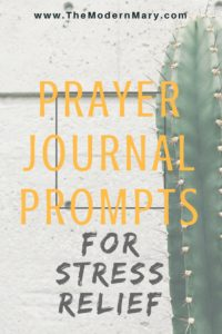 31 prayer journal prompts for stress relief. #warroom #prayerjournal #journalprompts #prayer