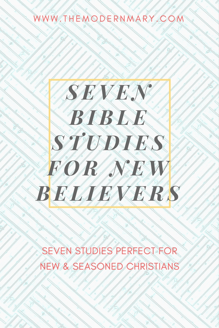 7 Bible Studies Perfect for New Believers
