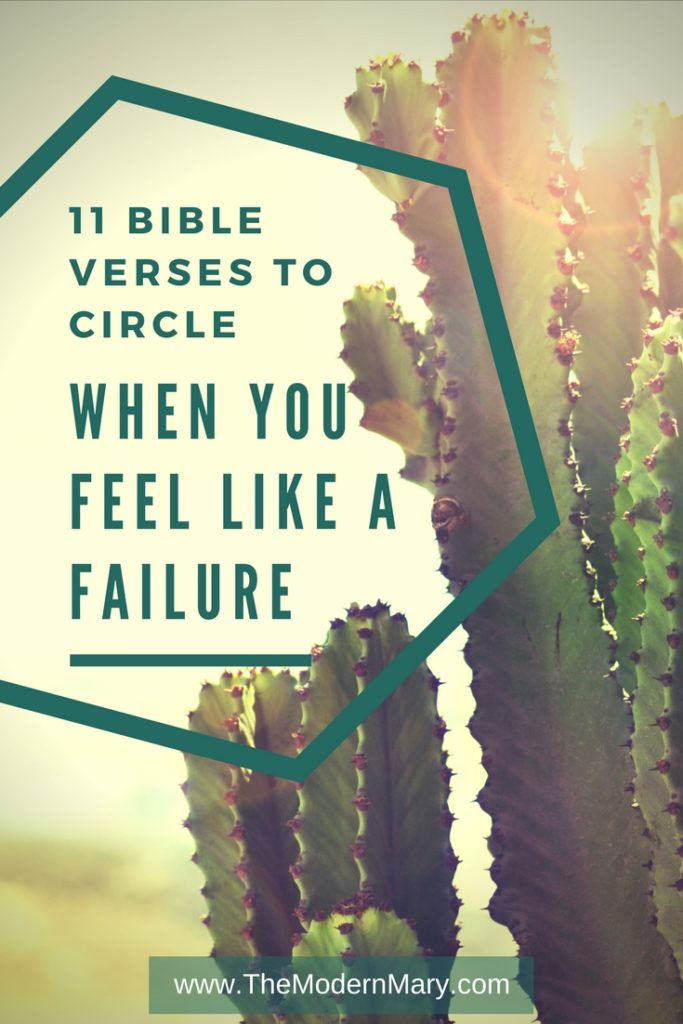 Failure scriptures on 40 Powerful