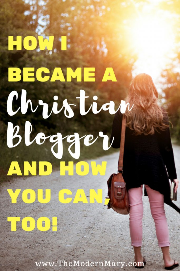 How I became a Christian Blogger, and how you can, too! Being a blogger can be hard when you are a Christian. How do you know who to trust? Check out this awesome list of Christian blogger resources. Don't miss it! #christianblogger #gracegirls #proverbs31 #newblogger #blogger